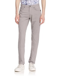 Sand Micro Five Pocket Pants Light Grey