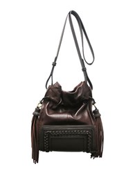 Sondra Roberts Medium Crossbody Bag Cognac