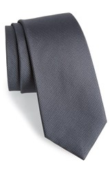 Men's Calibrate Woven Silk Tie Storm