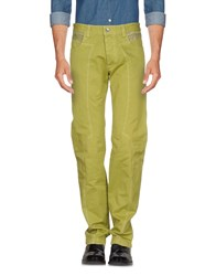 Jey Coleman Cole Man Casual Pants Acid Green