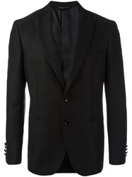 Tonello Buttoned Blazer Jacket Black