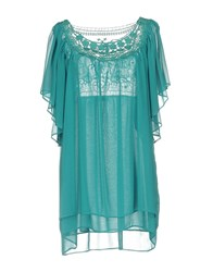 Clips More Short Dresses Turquoise