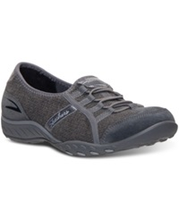 Skechers Women's Relaxed Fit Stealing Glances Memory Foam Casual Sneakers From Finish Line Charcoal Boiled Wool