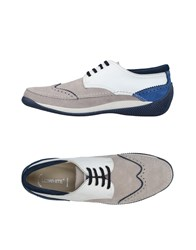 Lo.White Lo. White Lace Up Shoes Grey