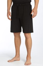 Men's Daniel Buchler Peruvian Pima Cotton Shorts Black