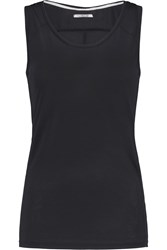 J Brand Nikki Stretch Knit Tank Black