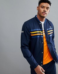 Lacoste Sport Tracksuit In Navy Suit1