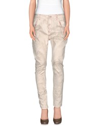 Manila Grace Denim Denim Trousers Women Ivory