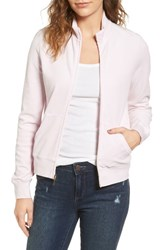 Juicy Couture Women's Fairfax Velour Track Jacket Peek A Boo