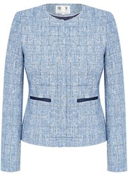 Austin Reed Tweed Jacket Blue