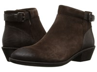 Sofft Vasanti Coffee Velour Cow Suede Lizard Print Women's Boots Brown