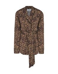 Jolie By Edward Spiers Shirts Brown