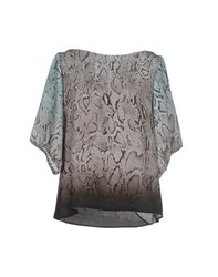 List Shirts Blouses Women Grey