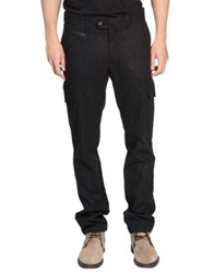 Zegna Sport Casual Pants Steel Grey