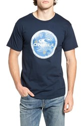 O'neill Men's Boardie Graphic T Shirt Navy