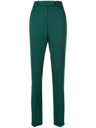 Calvin Klein 205W39nyc High Waisted Trousers Wool Green