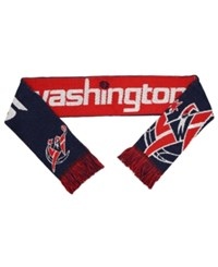 Forever Collectibles Washington Wizards Reversible Split Logo Scarf Red