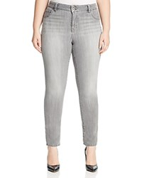 Lucky Brand Plus Emma Faded Straight Leg Jeans In Mystic Road