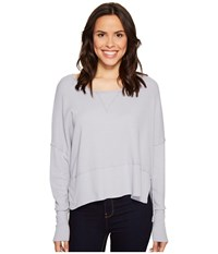 Lamade Lori Long Sleeve Top Vespa Women's Long Sleeve Pullover Gray