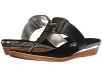 Onex Harriet Black Silver Women's Sandals