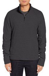 James Perse Men's Half Zip Sweatshirt