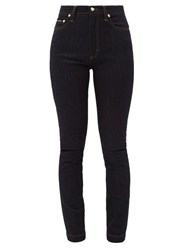 Dolce And Gabbana Audrey High Rise Stretch Skinny Jeans Denim