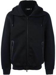 Dsquared2 'Mitsuzuka' Hooded Fleece Black