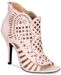 Mojo Moxy Dolce By Kojo Caged Sandals Women's Shoes Blush