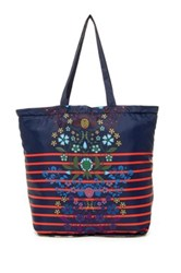 Cynthia Rowley Corey Packable Tote Red