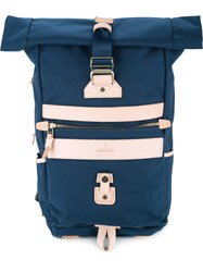 As2ov Contrast Large Backpack Men Nylon One Size Blue