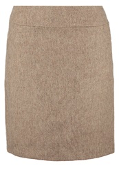Comma Pencil Skirt Champagner Beige