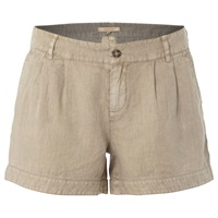 White Stuff Linen Lottie Shorts Natural
