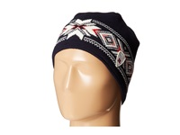Dale Of Norway Kuppern Masculine Hat Navy Off White Raspberry Knit Hats Black