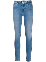 Tommy Hilfiger Piped Detail Skinny Jeans 60