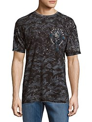 American Fighter Iron Knight Short Sleeve Graphic Tee Black White