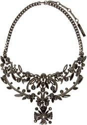 Givenchy Black Victorian Necklace