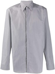 Maison Martin Margiela Micro Check Shirt Grey