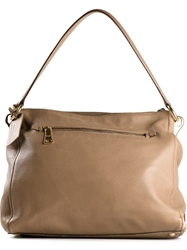 Prada Vintage Frame Satchel Bag Nude And Neutrals