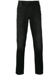 Neuw Stonewashed Slim Fit Jeans Black