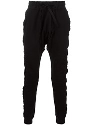 Blood Brother Drop Crotch Trousers Black