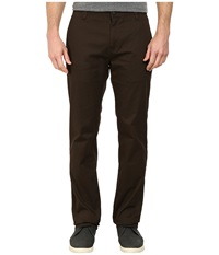 Volcom Frickin Modern Stretch Chino Bark Brown Men's Casual Pants