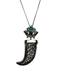 Roberto Cavalli Necklaces Steel Grey