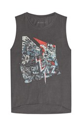 Zadig And Voltaire Printed Cotton Tank