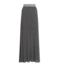 Missoni Pleated Glitter Maxi Skirt Female Grey