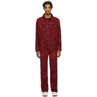 Etudes Studio Red Keith Haring Edition Canyon Jumpsuit