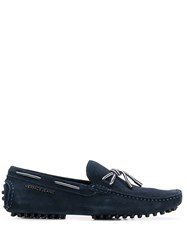 Versace Jeans Slip On Loafers Blue
