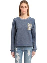 Tommy Hilfiger Cotton Terry Sweatshirt Gigi Hadid