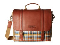 Pendleton Modern Messenger Hudson Plaid Messenger Bags Brown