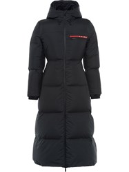 Prada Lr Hx022 Technical Nylon Puffer Coat 60