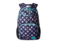 Roxy Shadow Swell Backpack Patriot Blue Dots Backpack Bags Multi